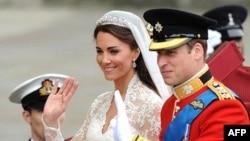 Hoàng tử Anh William và phu nhân, nữ công tước Cambridge