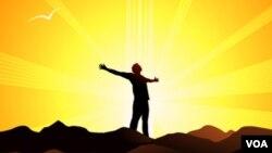 Vitamin D dibentuk dalam tubuh dengan pertolongan sinar matahari (foto: ilustrasi).