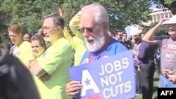 Protesti protiv velike stope nezaposlenosti u SAD