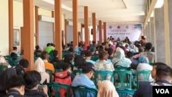 Jambore Sungai IV di Bantul, Yogyakarta. (foto: VOA/Nurhadi)