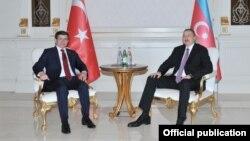 İlham Əliyev və Əhməd Davudoğlu