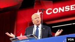 美國共和黨總統參選人川普