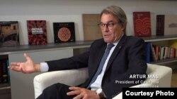 Бывший президент Каталонии Артур Мас