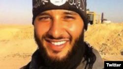 Foued Mohamed Aggad, nghi phạm thứ ba trong vụ tấn công nhà hát Bataclan ở Paris hôm 13/11/2015.