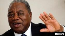 FILE - Zambia's former President Rupiah Banda.
