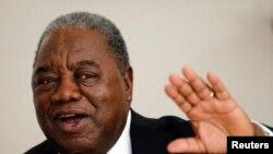 Antigo presidente zambiano Rupiah Banda