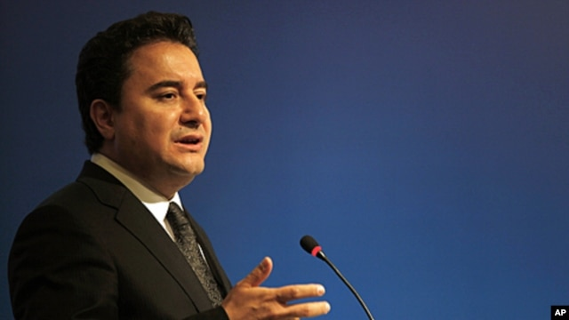 Turkish Deputy Prime Minister and Finance Minister Ali Babacan (file photo)