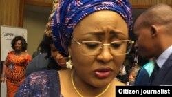 Aisha Buhari matar shugaban Najeriya