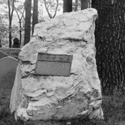 Emerson's grave in Concord, Massachusetts