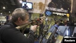El presidente Barack Obama anunció medidas ejecutivas para reforzar el control sobre las armas de fuego.