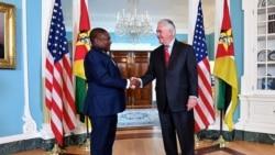 Nyusi pede aos americanos para diversificarem o investimento em Moçambique