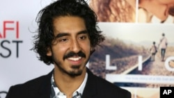 "Dev Patel arrives for the premiere of ""Lion"" during the American Film Institute Fest in Los Angeles, Nov. 11, 2016."
