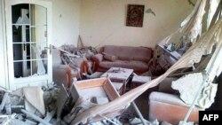 Развалины в районе Баба-Амр