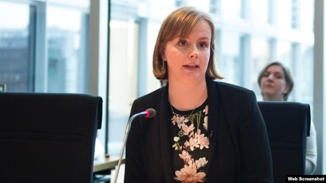 Bà Gyde Jensen, Chủ tịch Ủy ban Nhân quyền Quốc hội Đức. (Photo: Bundestag.de)