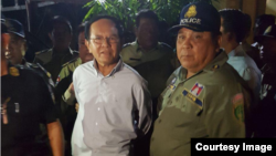 CNRP president Kem Sokha​ was arrested at his home in Phnom Penh, Cambodia, September 3, 2017. (Courtesy image)