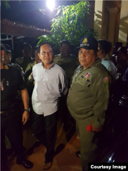 FILE: President of the now-dissolved main opposition party, Kem Sokha​, was arrested at his home in Phnom Penh, Cambodia midnight on September 3, 2017. (courtesy image)