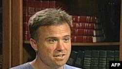 """Dejvid Svonson, jedan od organizatora pokreta """"Okupirajmo Vašington"""""""