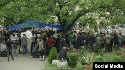 მაღაროელთა გაფიცვა ჭიათურაში By EMC