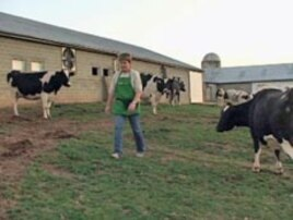 Mary Jane Roop used to run a dairy farm but now relies increasingly on tourists to boost profits.