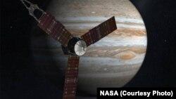 Bà Diane Brown thuộc NASA cho biết việc đưa Juno vào quỹ đạo 'hơi khó nhưng đã diễn ra hoàn hảo.'