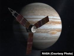 美国国家航空航天局的探测船朱诺