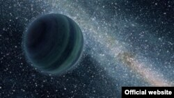 Gambar ilustrasi planet seperti Yupiter yang mengembara di antariksa karena tidak mengorbit kepada salah satu bintang (foto: NASA.gov).