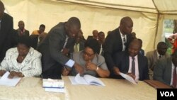 Members of the People's Rainbow Coalition have nominated Joice Mujuru as their 2018 presidential election candidate.
