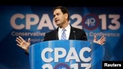 Le sénateur Marco Rubio (14 mar 2013)
