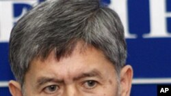 Almazbek Atambayev, leader of the Social Democratic Party of Kyrgyzstan, and the proposed new prime minister (FILE).