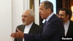 ظریف در کنار لاوروف؛ ایران و روسیه جدیترین متحدان بشار اسد هستند