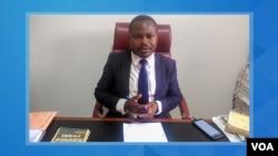 Dr. Mananga Padi, advogado dos activistas presos em Cabinda desde 10 de Dezembro de 2019.