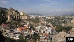 Thủ đô Tbilisi của Gruzia