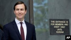 جرد کوشکنر، همسر ایوانکا دختر پرزیدنت ترامپ، به عنوان مشاور ارشد رئیس جمهوری در کاخ سفید خدمت میکند
