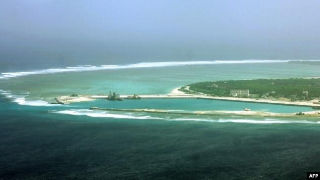 Đảo Phú Lâm, đảo lớn nhất trong quần đảo Hoàng Sa, nơi Trung Quốc thiết lập thành phố Tam Sa
