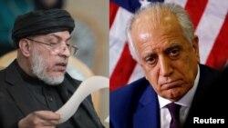 Khalilzad Taliban talks