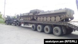 Rusko naoružanje u selu Panik