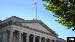 Zgrada Sekretarijata za finansije SAD u Washingtonu (Foto: AFP)