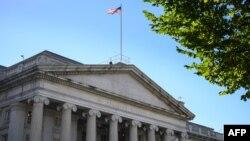 Zgrada Sekretarijata za finansije SAD u Vašingtonu (Foto: AFP)