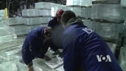Китайские мастера построили под Вашингтоном ледяной дворец
