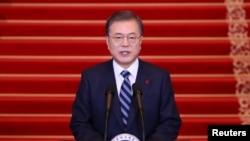 Shugaban Koriya ta kudu, Moon Jae-in