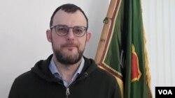 Харольдас Даублис - руководитель специальная группа помощи Украине при «Союзе стрелков Литвы»