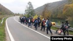 Migranti u USK, arhivska fotografija. Foto: Birn BiH