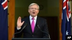 前澳大利亞總理陸克文