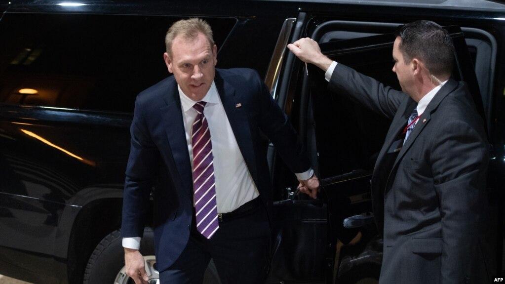 Quyền Bộ trưởng Quốc phòng Mỹ Patrick Shanahan đến Lầu Năm Góc trong cương vị mới