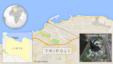 Bản đồ địa điểm khách sạn Corinthia ở Tripoli, Libya.
