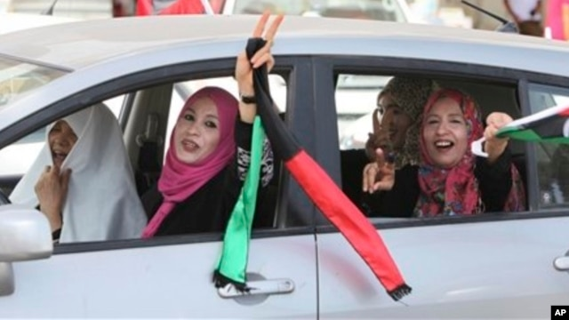 Libya's women exercised their power in the July, 2012 elections. Wil they now give up their new-found rights?