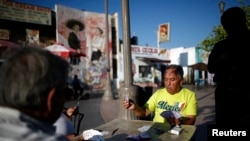 美国加利福尼亚州洛杉矶居住着许多墨西哥和中美洲移民。
