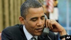 El presidente Obama conversó telefónicamente con su homólogo chino, Xi Jinping.