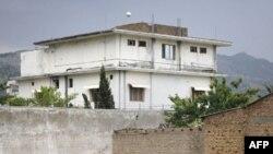 Ngôi nhà nơi Osama bin Laden trú ẩn ở Abbottabad, hình chụp ngày 5/5/2011
