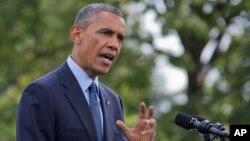 """Pernyataan Presiden AS Barak Obama hari Kamis (11/9) menyebut tindakan Rusia di Ukraina sebagai """"ilegal"""" (foto: dok)."""